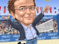 BeachvolleyballJagerhofer Karikatur Caricature