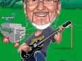 Gitarrero Karikatur Caricature